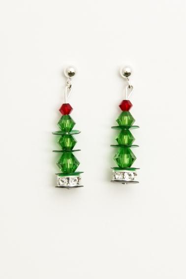DIY Christmas Tree Earring Pack Rockliffe House - Make Christmas Tree Earrings